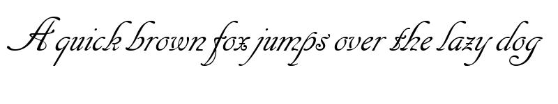 Preview of 1 Cancellaresca Script LET Plain1.0