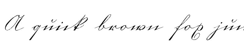 Preview of 1880 Kurrentshrift Normal