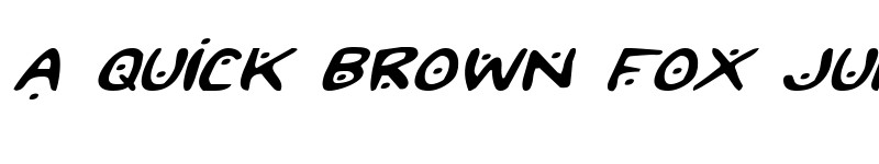 Preview of 2Toon2 Expanded Italic Expanded Italic