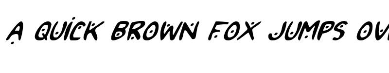 Preview of 2Toon2 Italic Italic