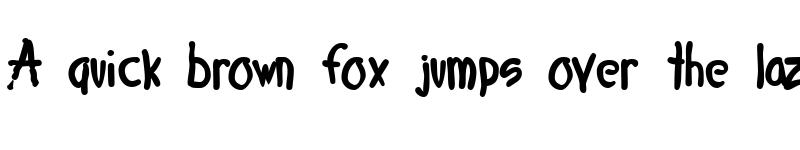 Preview of 4 Star Face Font Regular
