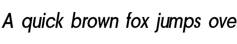 Preview of a_AvanteNrMedium Italic
