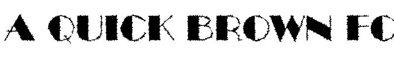 Preview of a_BentTitulBrk Regular