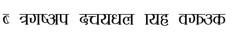 Preview of aakasha Regular