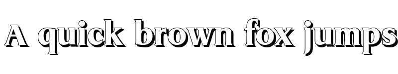 Preview of AaronBeckerShadow-Heavy Regular