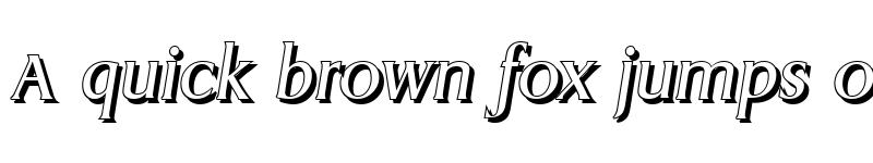 Preview of AaronBeckerShadow Italic