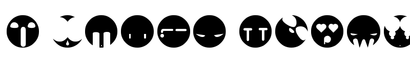 Preview of aaronfaces Regular