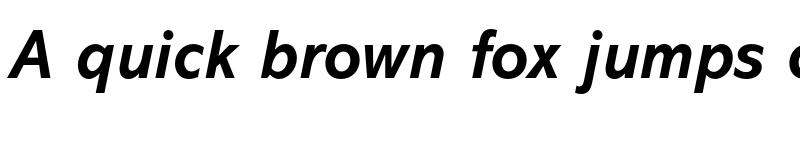 Preview of Abadi MT Std Bold Italic