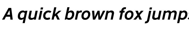 Preview of Abandon Medium Italic