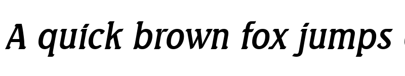 Preview of AbelBecker Italic