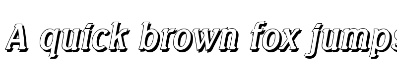 Preview of AbelBeckerShadow Italic