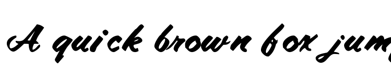 Preview of Amalie Script Bold