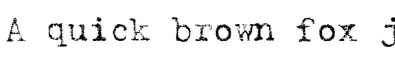 Preview of Armenschrift Regular