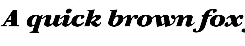 Preview of Artemius Black TT Regular Italic