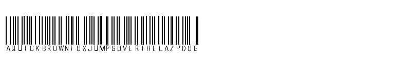 Preview of barcoded Regular