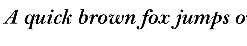 Preview of Bell MT Std Bold Italic