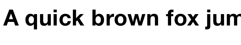 Preview of BMW Helvetica Bold