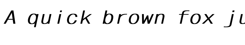 Preview of ????????????????????? Bold Italic
