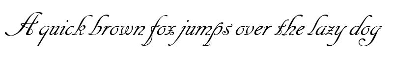 Preview of Cancellaresca Script LET Plain