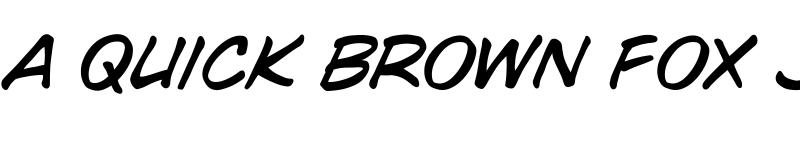 Preview of CCWildWords Medium Italic