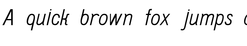 Preview of Do431 Italic