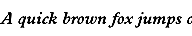 Preview of DonBecker Bold Italic