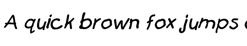 Preview of FirstGrader Italic