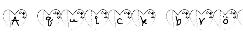 Preview of ha-Font Regular