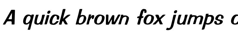 Preview of Impressed Italic Italic