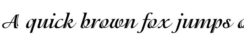 Preview of Isadora LT Regular Bold