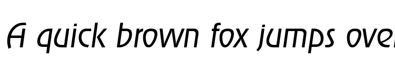 Preview of JoeBecker-Light Italic