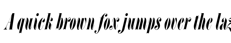 Preview of L Italic