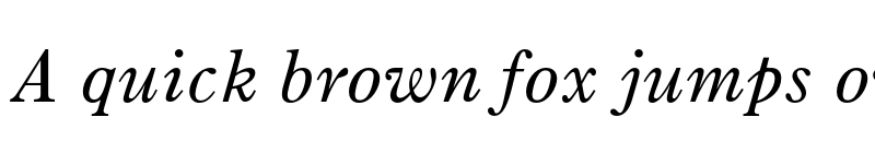 Preview of Old Style 7 Italic