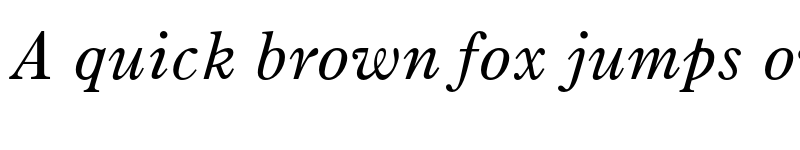 Preview of Old Style 7 Std Italic