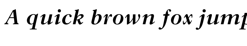 Preview of Old Style MT Std Bold Italic