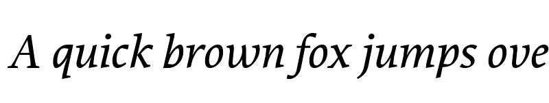Preview of Proforma MediumItalic