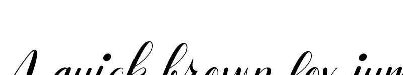 Preview of Safilla Italic