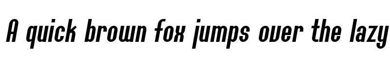 Preview of SF Willamette Italic