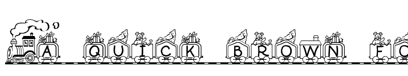 Preview of Toy Train Regular