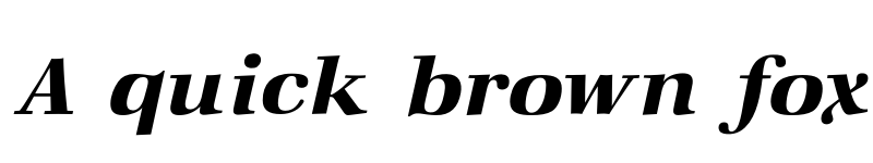 Preview of Zapf Demi Italic