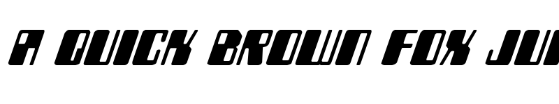 Preview of Zyborgs Italic Italic